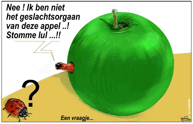 Granny Smith appel cartoon