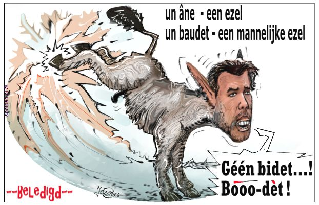 Thierry Baudet cartoon