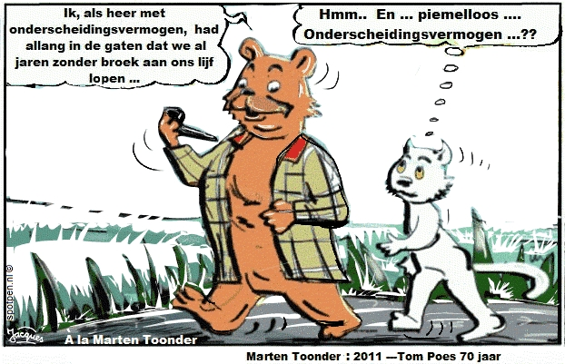 Cartoon   Olivier Bommel Tom Poes
