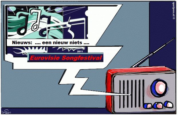 Cartoon  Eurovisie Songfestival
