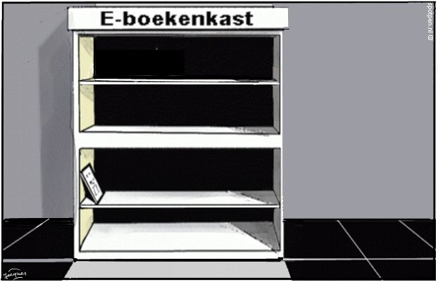 e-books ebooks cartoon e-boeken literatuur