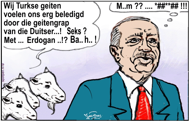 erdogan geiten turkije cartoon