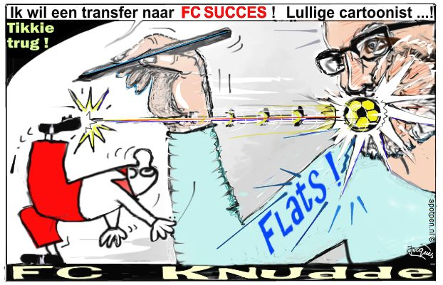 F.C. Knudde  FC  cartoon