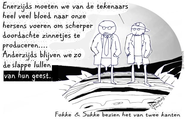 Fokke & Sukke cartoon