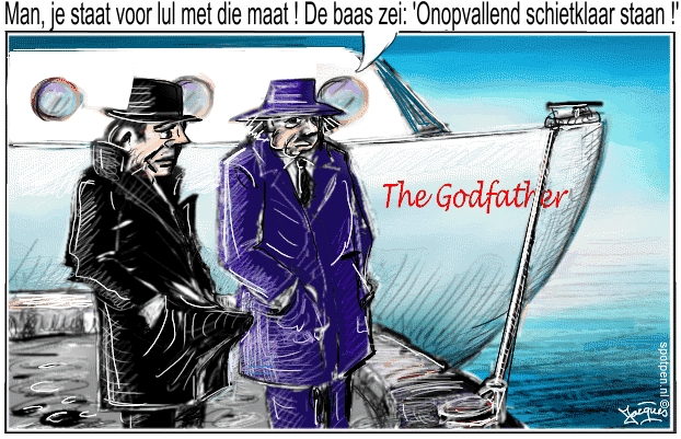 Mafia maffia | cartoon Godfather
