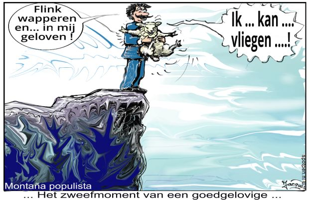 onnozel schaap cartoon