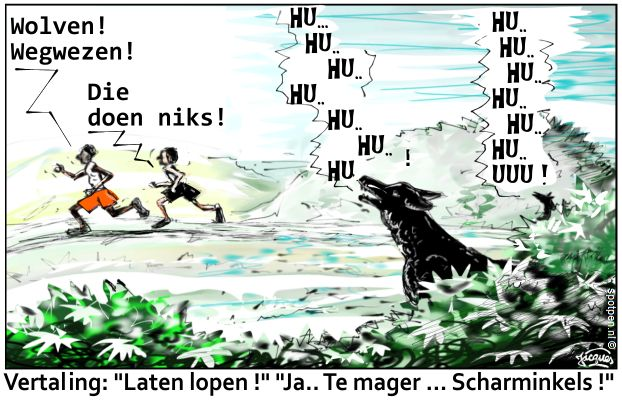 hardlopers cartoon hardlopen  atletiek