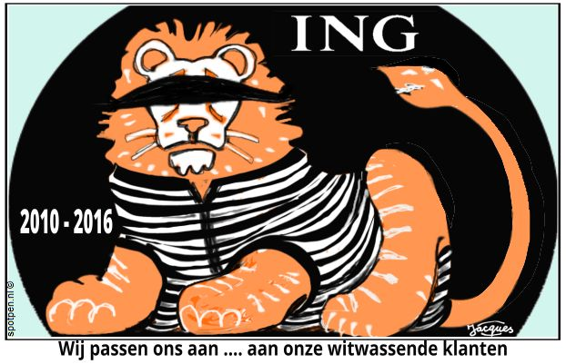 ING - bank cartoon