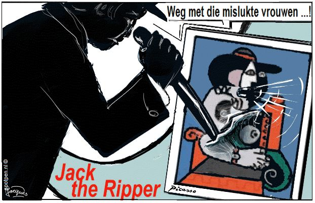 cartoon Jack the Ripper