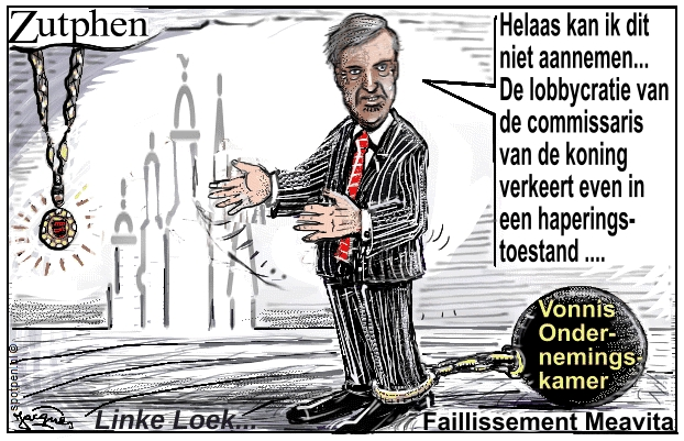 burgemeester cartoon loek hermans