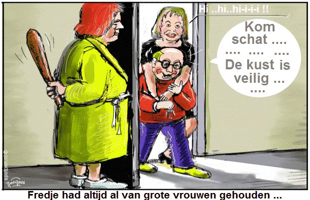 cartoon vreemdgaan overspel