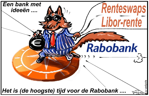 banken cartoon - libor rente swaps