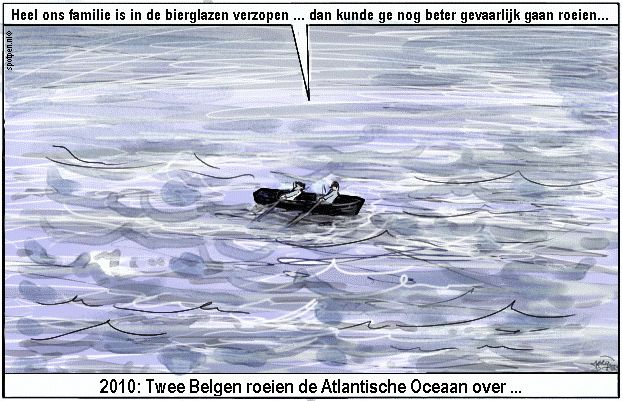 Cartoon  roeien  roeiers  roeisport  roeiboot