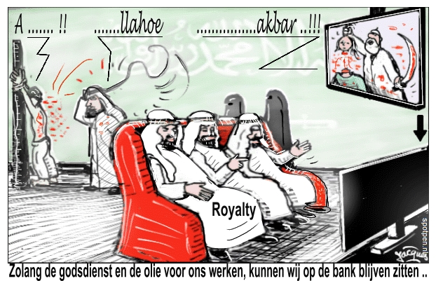 Cartoon - Saoudi Saoedi-Arabie Saudi
