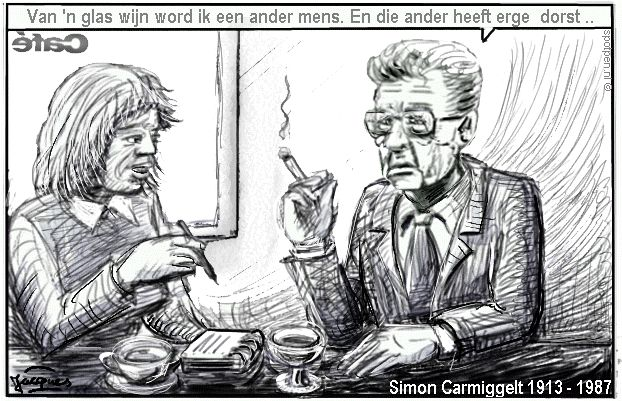 Carmiggelt  cartoon
