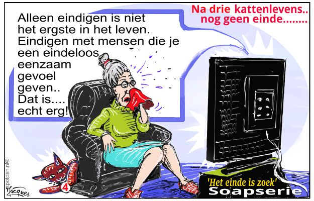 Soap serie cartoon
