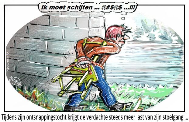 Cartoon  stoelgang