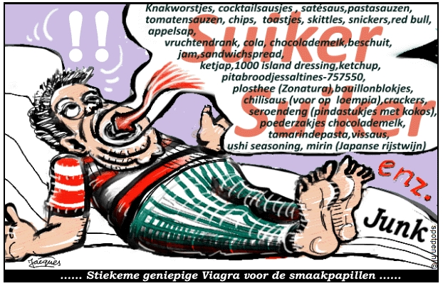 suiker cartoon