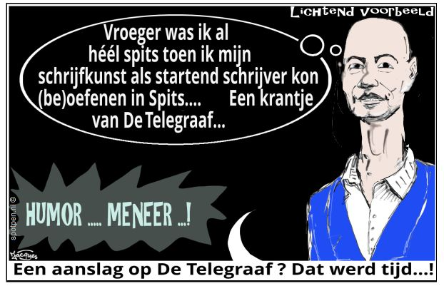 Tommy Wieringa cartoon