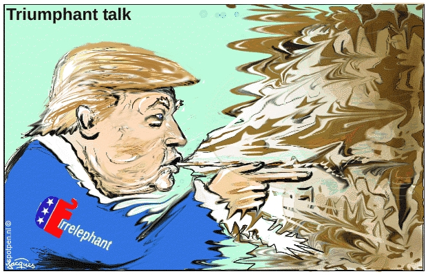 Trump cartoon Donald