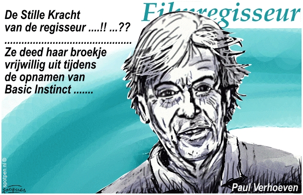 Cartoon film regisseur  Paul Verhoeven