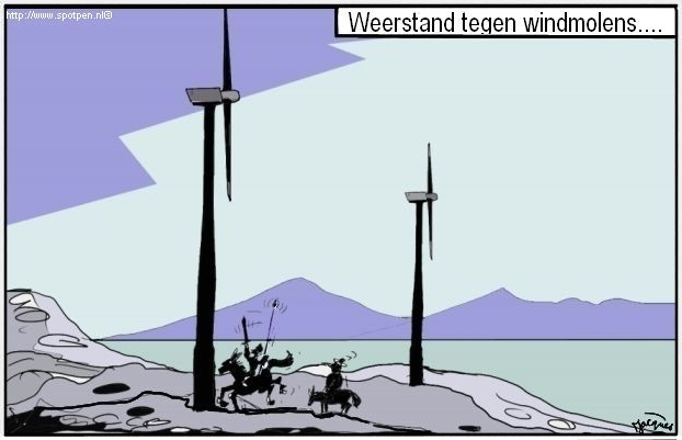 windmolens - Don Quichot