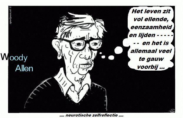 Woody Allen cartoon filmregisseur