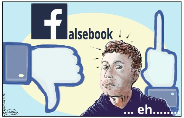 Zuckerberg Facebook cartoon